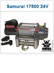 Warriorwinch C17500 SAMURAI 24V